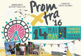 Join us at Colwyn Prom day on Saturday 14 May 2016