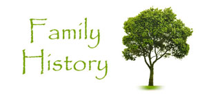 Family History Wwenesdays at 9:30am
