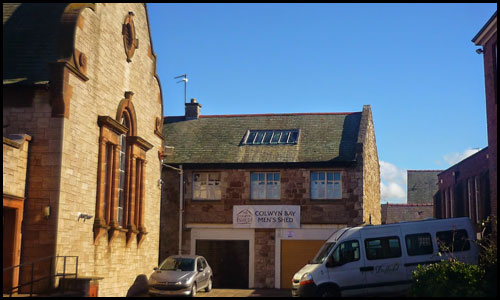 Our Rhiw Road premises